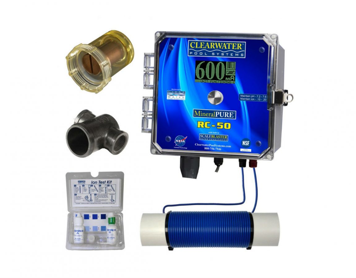 Ionizer RC 50 Clear Water Image