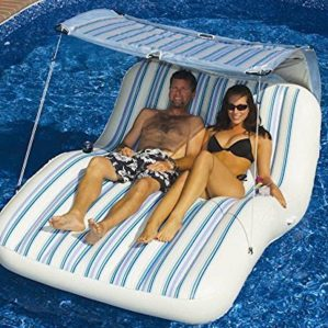 Amazon-Large-2-Person-Swimming-Pool-Lounger-Beach-Inflatable-Raft-Float-Air-Mattress-Leviapool