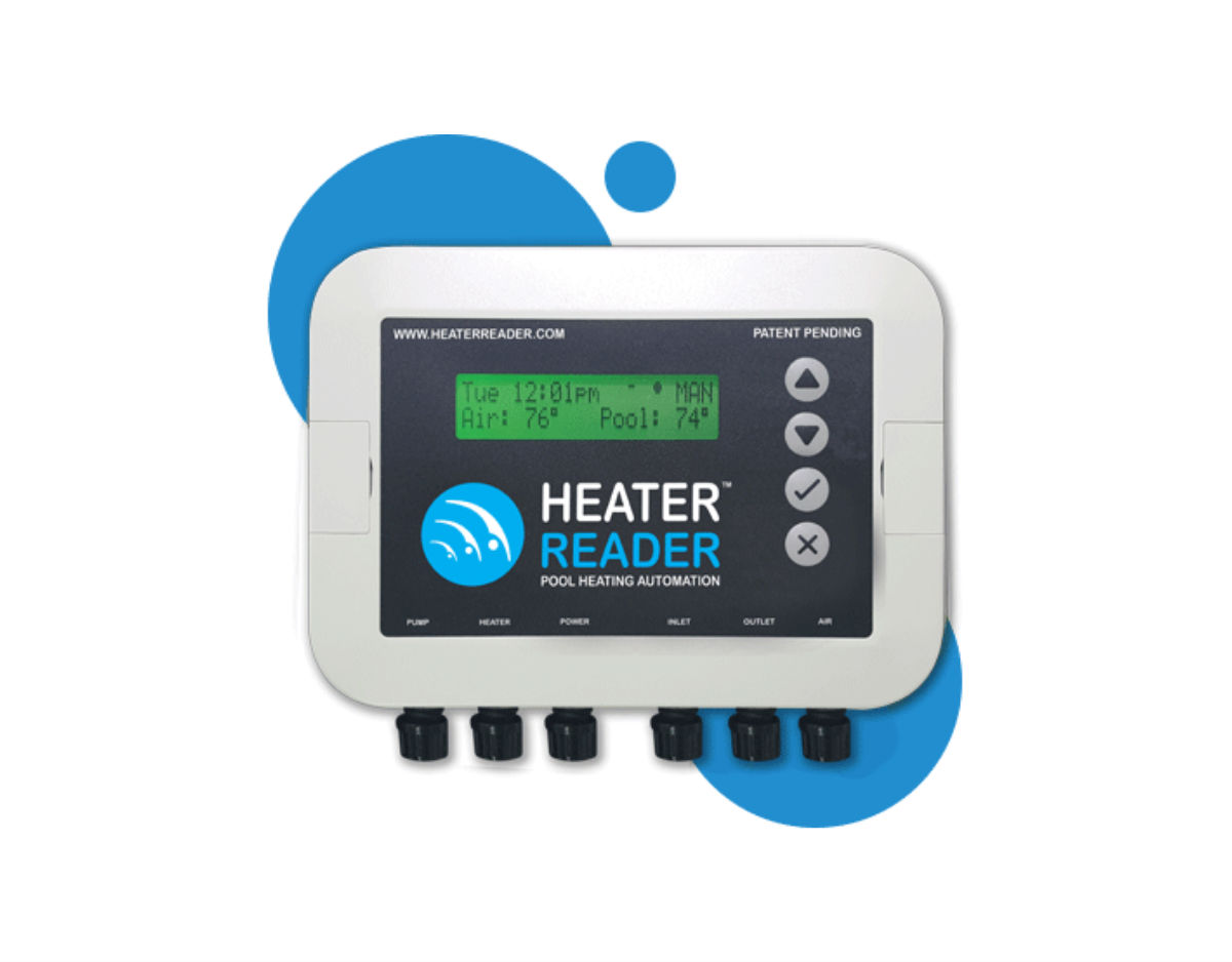 Control & Monitor Heater & Pump Pool Heater Reader Image