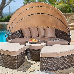 Modular-Lounger-Outdoor-Furniture-Wicker-Daybed